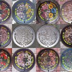 Compilation des 12 plaque mensuelles de Beppu