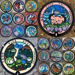 Mozaïque des 20 Poképlak de la seconde partie de Miyagi