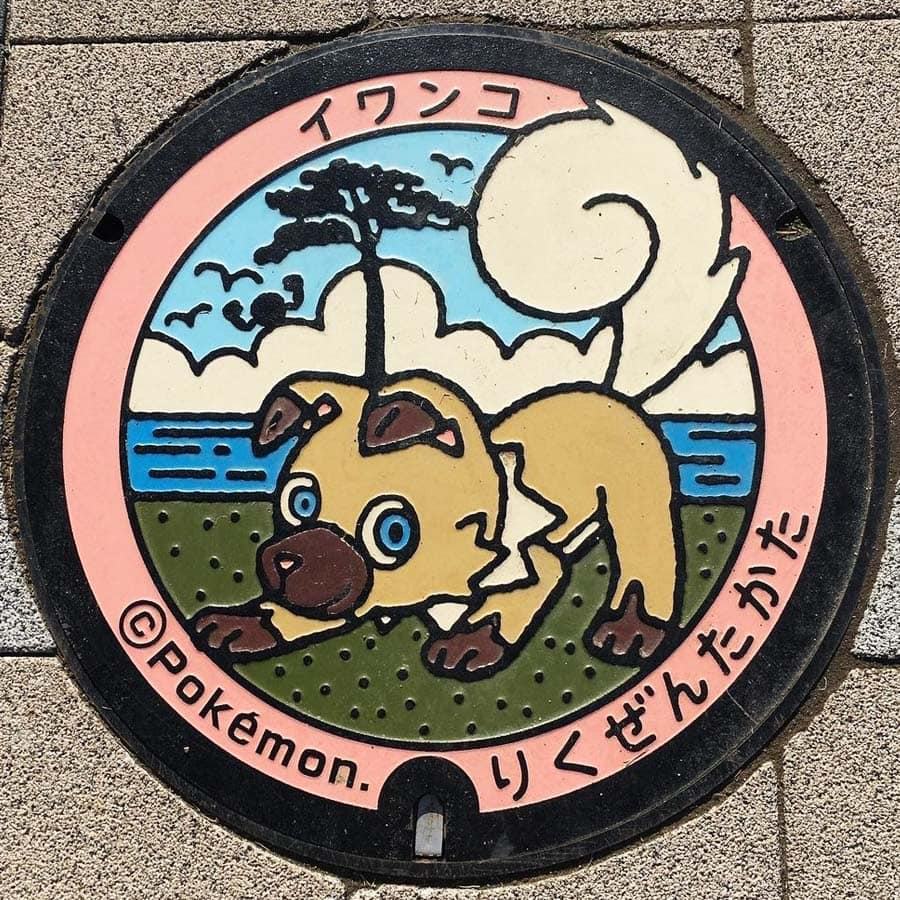 PokéPlak de Rikuzentakata figurant Rocabot